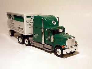 Winross R L Carriers Semi Tractor Trailer Truck Single Pup R L