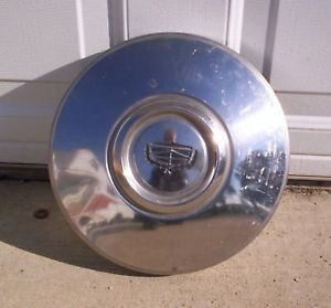 73 to 75 Ford Dog Dish Hubcaps Great Shape