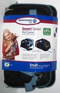 New Brinkmann Pet Smart Space Small Carrier Dog Cat Crate Bag Soft Cloth Tote