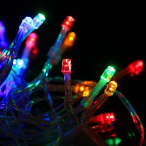 3M 30 LED Battery Powered Multi Color String Fairy Lights for Christmas Party