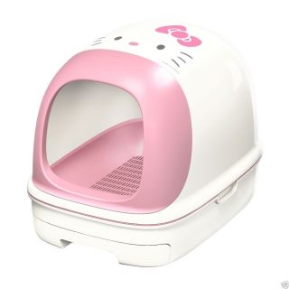Hello Kitty Litter Tray Toilet Box for Cat Limited Quantity Japan