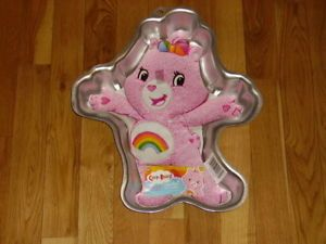Wilton Care Bears Pink Cheer Bear Birthday Cake Decorating Pan Mold 2105 5555