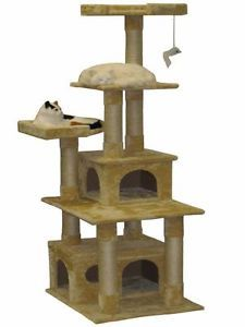 Cat Tree House Toy Bed Scratcher Post Furniture F204