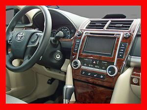 2012 2013 Toyota Camry Wood Dash Kit Wood Trim Dash Outlet Dash Trim 32pcs