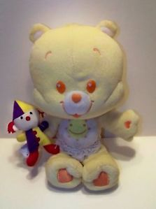 Cute Care Bears Cubs Funshine Bear Baby Stuffed Plush