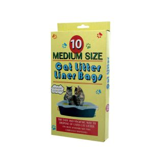 New Wholesale Case Lot Med Cat Litter Liner Box Bags