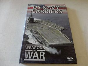 Weapons of War US Navy Carriers DVD Booklet Military Video