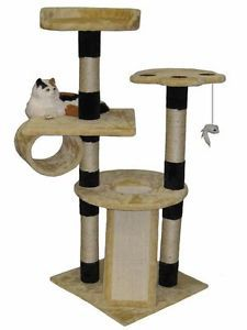 Cat Tree House Toy Bed Scratcher Post Furniture F207
