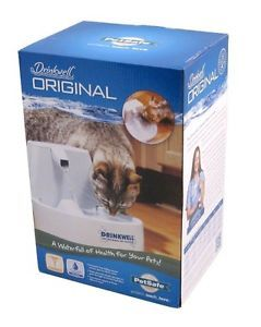 Drinkwell Original Pet Fountain Cat Dog Waterfall Bowl NIP Water Pet Supplies