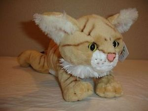 "12"" Sand Cat Plush Stuffed Animal Toy"