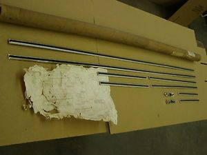 1969 Ford Thunderbird T Bird 2 Door Body Side Moulding Kit Accessory Trim