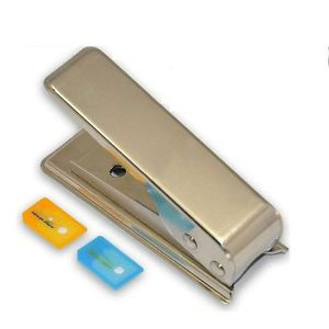 Micro Sim Card Cutter Adapter for iPhone 4 4S Samsung Galaxy S3 S4 Note 2 N7100