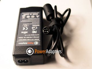 Lishin 0217B1250 4 Pin LCD TV 12V 7A 4 Pin Power Supply Adapter with Lead