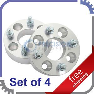 4pc 25mm 4x114 3 to 4x100 Wheel Spacers Adapters 12x1 5 Acura Honda Kia