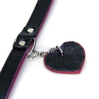 Adjustable Shining Pet Dog Collar Leash Lead Harness