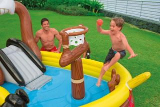 Intex Pirate Adventure SHIP Play Center Kids Inflatable Pool 57133EP