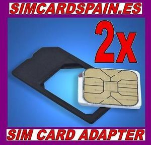 Micro SIM Card Adapter For Apple iPhone 4 4s 4GS iPad 1 2 3 Sim Card Spain