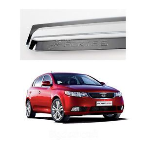 Chrome Window Vent Shades Visors Rain Guards K901 for Kia Forte 2012 2013 5DOOR