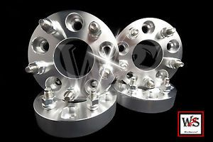 "5LUG 1 5"" Chevy Olds Buick Pontiac Wheel Spacers Adapters 5x4 75 5x120 7mm"