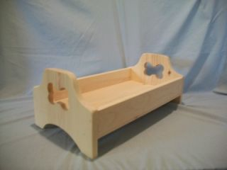 Handmade Wooden Pet Beds for Small Miniature Toy Dog Bed Cat Bed Rabbit Ferret