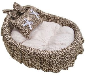 Princess Pet Dog Cat Handmade Bed House Sofa 4 Color