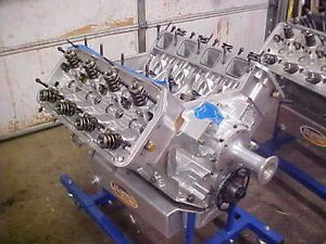 541 Blown Hemi Drag Race Engine TFX Billet Block Brad 5 Heads 4 375 x 4 500