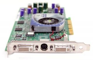New Dell Precision Workstation 450 AGP 128MB Video Card P83 D1107 0D1107