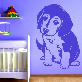 Beagle Puppy Dog Animals Wallart Sticker Wall Decal Transfers