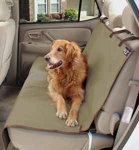 Solvit Waterproof Sta Put Bench Car SUV Van Seat Cover 62313 Dog Cat Pet New