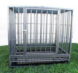 "New XL 48"" Heavy Duty Level III Dog Pet Cage Crate Kennel Playpen Exercise Pen"