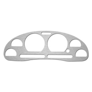 Ford Mustang 94 04 Brushed Aluminum Instrument Cluster Dash Gauge Bezel Trim Kit