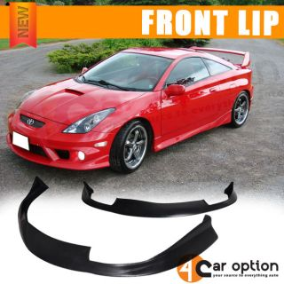 Urethane 00 02 Toyota Celica JDM Style Poly Front Bumper Lip Spoiler PU