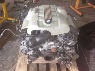 02 05 BMW E60 E63 545 645 745 x5 4 4 N62 Engine Assy Low Miles Only 63K Miles