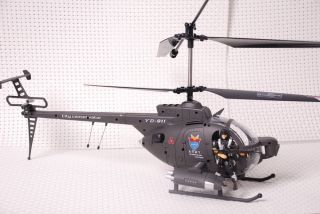 Yd 911 Military Defender w Army Figures 3 CH Gyro Helicopter RC Remote Control