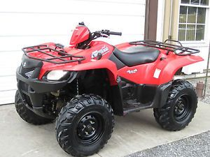 2007 Suzuki King Quad 450 Fi 4x4 IRS Low Miles Cheap Shipping ATV 700 4 Wheeler