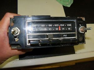 Working 1977 Chevy GMC Truck Am FM Radio GM Delco Serviced