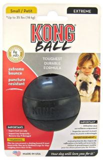 Small Extreme Kong Rubber Ball High Bounce Rubber Small Dog Toy