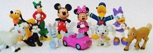 Minnie Mouse Clarabelle Cow Daisy Duck Dog Disney Toy PVC Figure Cake Topper Set