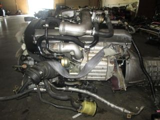 Nissan 240sx Skyline GTS r33 JDM RB25DET S2 S1 Engine Motor RB25 DET Long Block