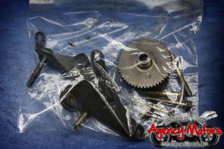 05 06 Kawasaki Ninja 636 zx6r Generator Stator Cover Left Side Engine Cover