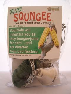 Squirrel Bird Feeder Bungee Jumper Lots of Fun