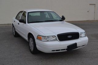 2008 Ford Crown Vic Police Interceptor