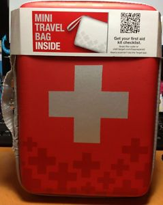 First Aid Kit Bag and Mini Travel Bag Medication not Included