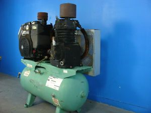 Portable Air Compressor 25 CFM 175 PSI Kohler Gas Engine Speedaire 5F564A