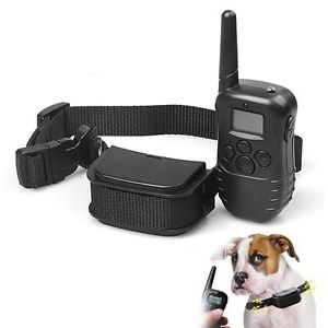 Dog Pet Puppy Bark Remote Training Shock Collar Colar Coller Electronic Electric