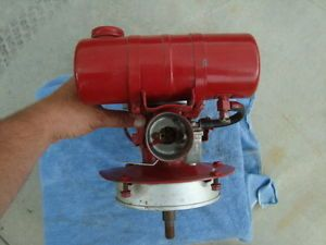 Vintage Power Products 2 Cycle Vertical Shaft Motor Engine Lawn Mower 2 Stroke