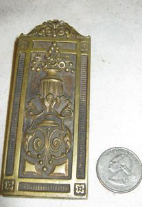 Antique Architectural Art Nouveau Bradley Hubbard Bronze Desk Art Paper Clip
