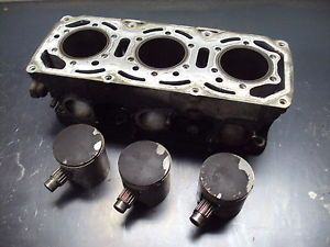 1994 94 Polaris Indy 580 Carb Snowmobile Triple Cylinder Jug Piston Engine