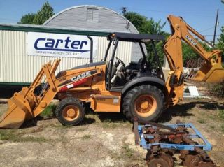 2010 Case 580 M3 Loader Backhoe 4 Speed 4WD Louisiana
