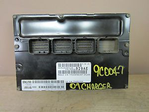 1050 07 Chrysler 300 2 7L ECU ECM Engine Control 590 00762 P05094929AE